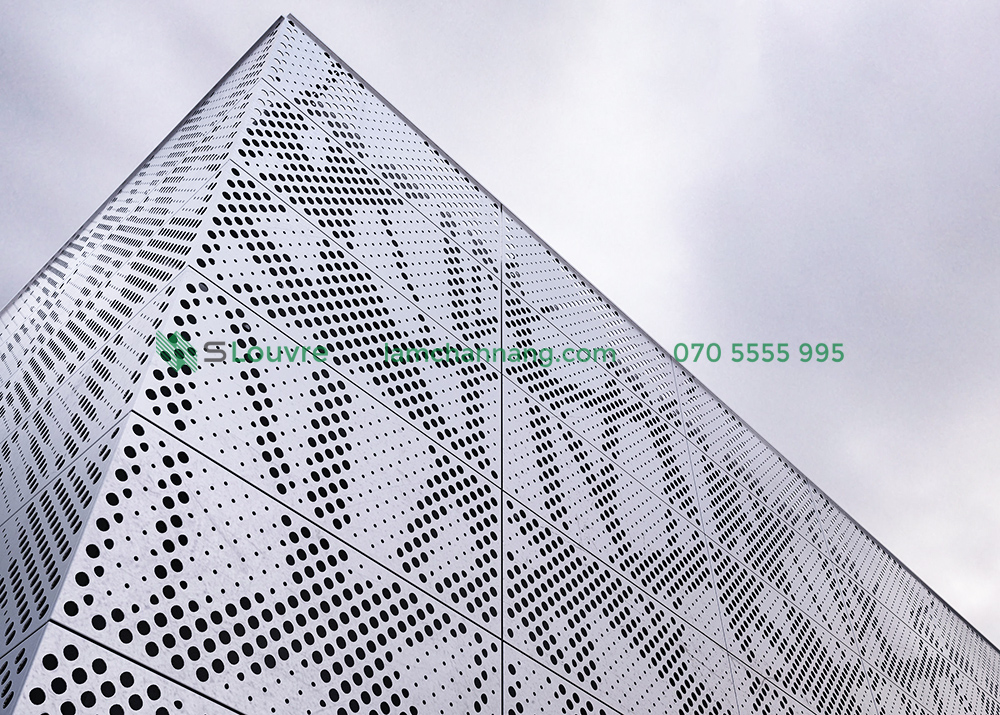 corrugated metal panel, decorative metal ceiling, Metal Cladding Panels, aluminium cladding, aluminium facade panel, facade panel, curtain wall, Facade Architecture, mặt dựng Facade, vách dựng Facade