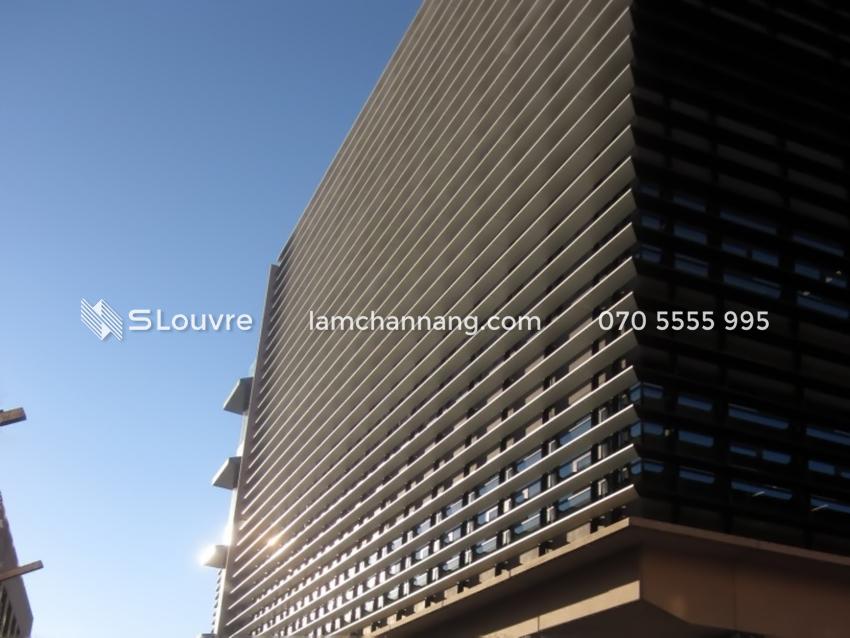 Giải pháp lam nhôm hộp cho kiến trúc mặt dựng