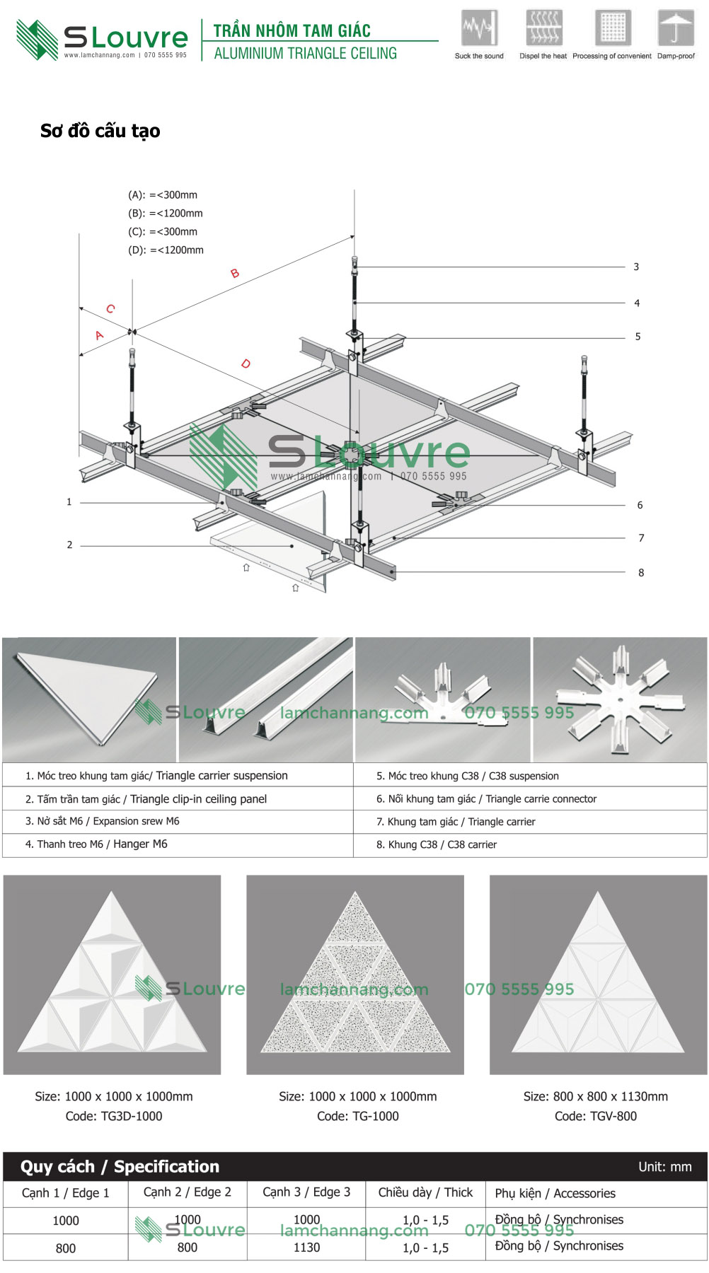 trần nhôm tam giác, trần tam giác, trần kim loại tam giác, metal triangle ceiling, aluminium triangle ceiling, trần nhôm, trần kim loại, aluminium ceiling